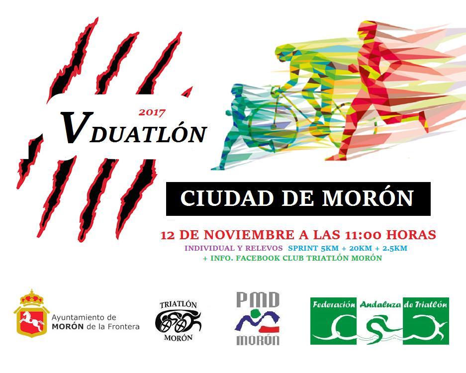 V Duatlón ciudad de Morón 2017